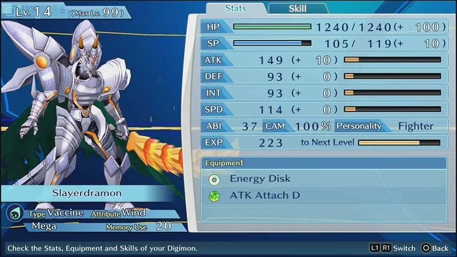 How To Increase ABI In Digimon Story Cyber Sleuth - Hackers Memory