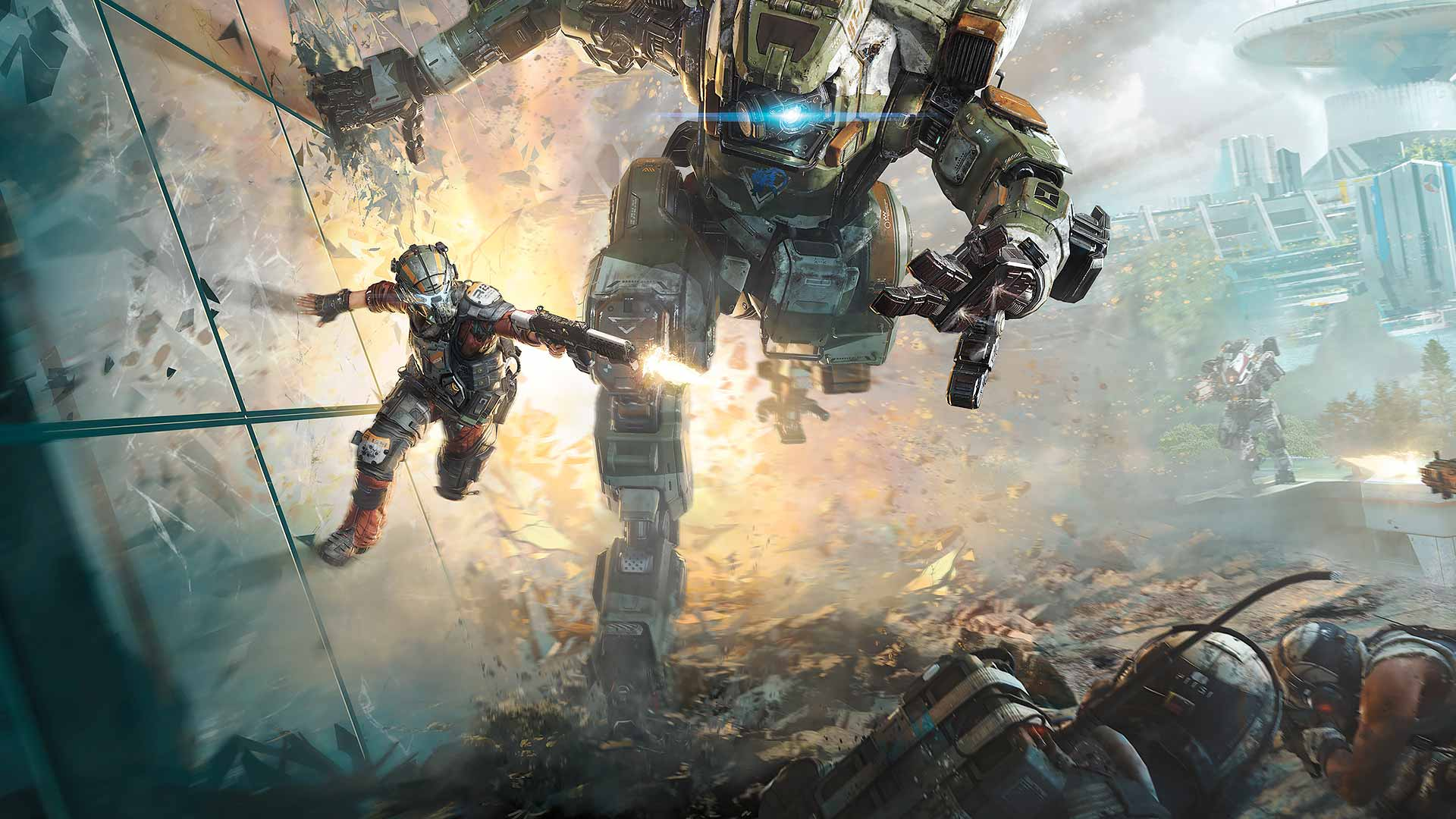 Fall Out 4 Hd Wallpapers Titanfall 2 Review Clash Of The Titans Gamerspack