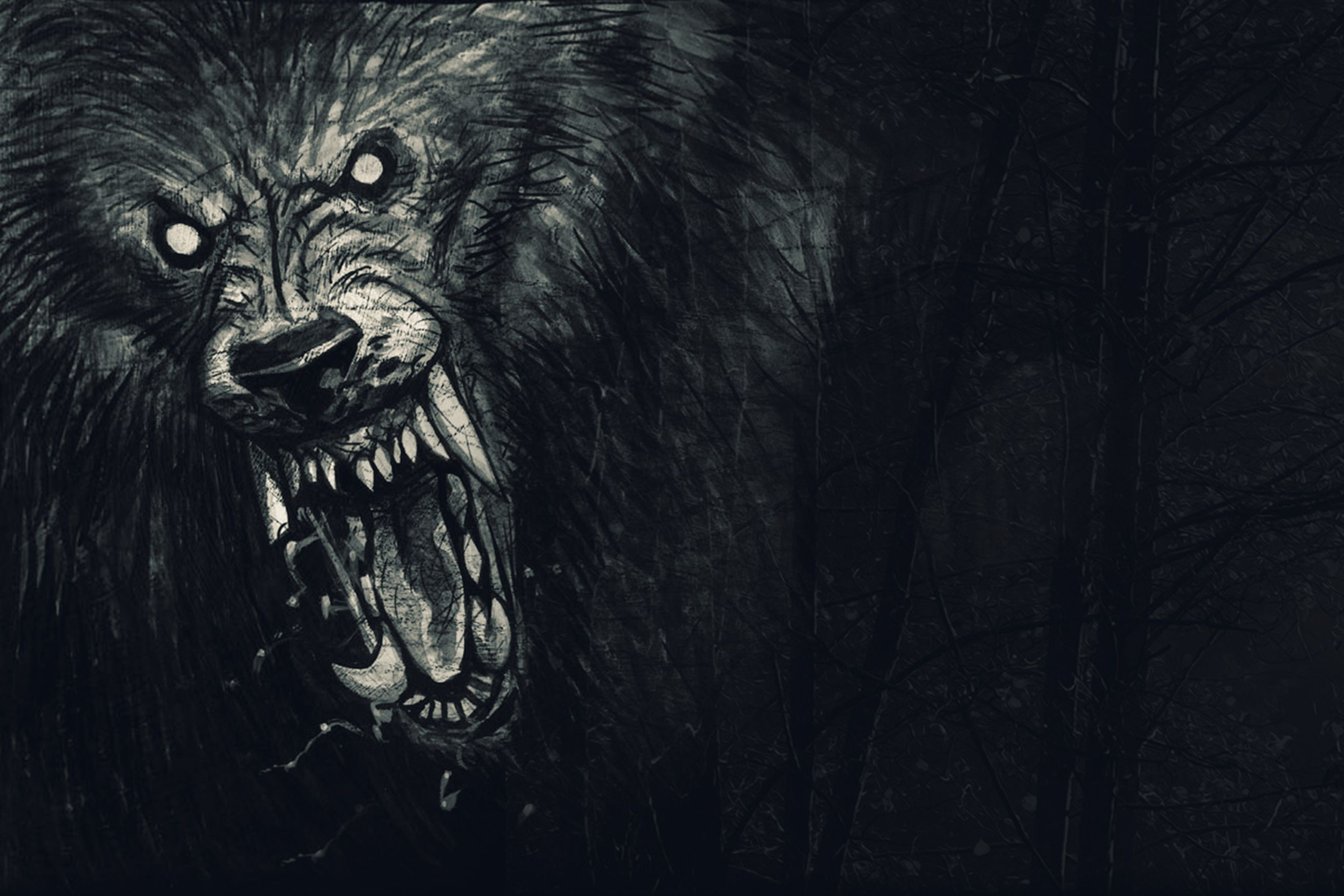 Wampire Moon Wallpaper Desktop 3d Werewolf The Apocalypse Announced For Pc And Consoles