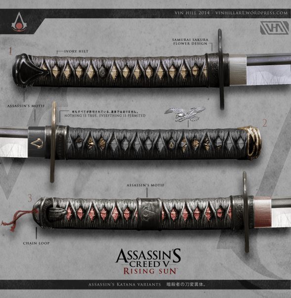 Assassins Creed -rising sun-GAMERSRD