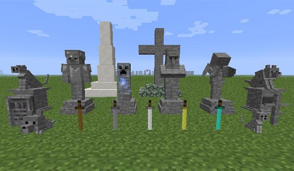 Gravestone Mod para Minecraft-GAMERSRD