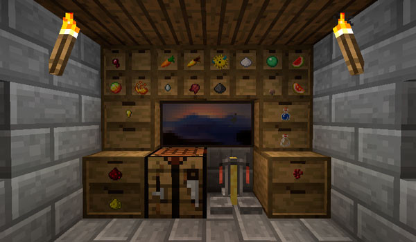 Storage Drawers Mod para Minecraft 1.7.10-GAMERSRD