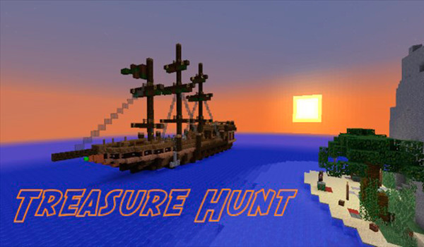 Treasure Hunt Map para Minecraft 1.8.3-gamersRD