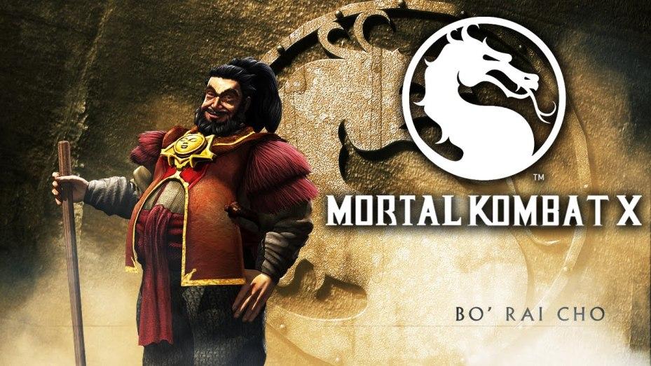 Mortal Kombat X New Bo' Rai Cho-gameplay-GAMERSRD
