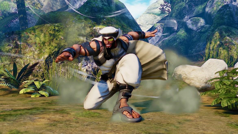Rashid en 'Street Fighter V'-GAMERSRD