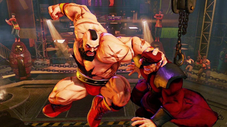 Zangief y Necalli- Street Fighter 5-GAMERSRD