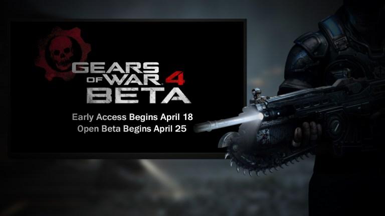 Gears of War 4- beta-GamersRd