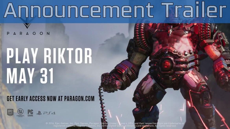 Paragon - Riktor Overview Trailer   PS4