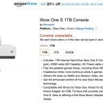 Xbox One S- 1TB =agotado-Amazon-GamersRD