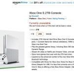 Xbox One S- 2Tb-agotado-Amazon-GamersRD