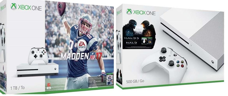 Xbox One S -Bundle-Madden NFL 2017 -Halo -GamersRD
