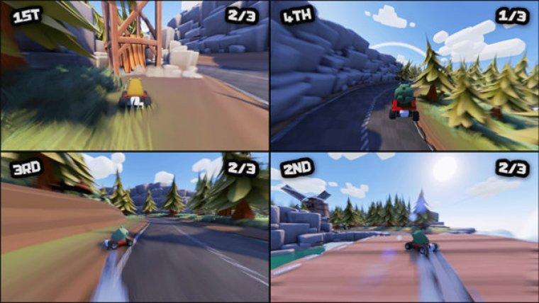 Nuevo-juego-de-carreras-para-PS4-Bears-Cant-Drift-gamersrd