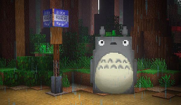 recrean-el-universo-de-mi-vecino-totoro-en-minecraft-gamersrd