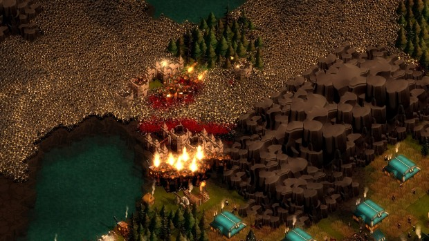 Early Fall Wallpaper They Are Billions Is A Newly Announced Strategy Game Set