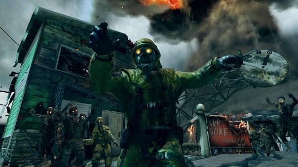 Call of Duty Black Ops II mapa Nuketown Zombies