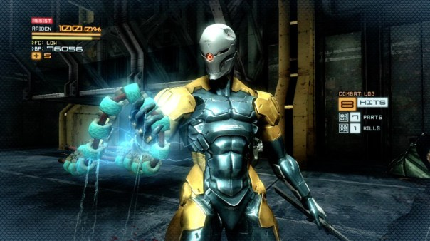 Metal Gear Rising: Revengeance Raiden GrayFox