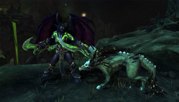 Cazador de demonios y su mascota