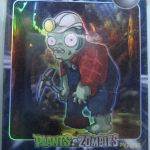 Plants vs. Zombies CHINESE trading cards 3