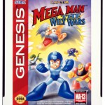 Mega Man The Wily Wars U.S. Box Art Transparency