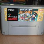 Super Nintendo Mario All-Stars SNES Korean Hyundai Cart