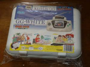 Sega Game Gear Rare WHITE SYSTEM Console Complete Japan