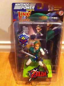 Zelda Ocarina Of Time Nintendo Power Figure RARE