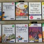 Every Sega Master System Light Gun Game