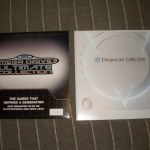 SEGA vinyl records Dreamcast Collection and Mega Drive Collection
