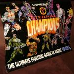 ETERNAL CHAMPIONS Sega CD Genesis Vinyl Store Display 35x26 Banner