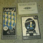 Fallout 3 Memorabilia from PAX 2008 - Desk Nuke, Demo Invite, Survival Guide