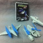 Japan Takara Tomy NINTENDO Mechanics STARFOX - Arwing, Land Master, Blue Marine