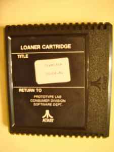 Atari 5200 Prototype Lab Loaner Cartridge - Gremlins