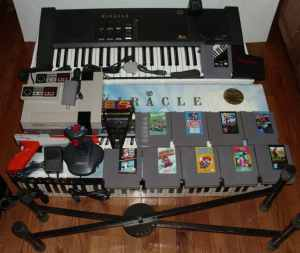 NES Action Set and MIRACLE PIANO SYSTEM