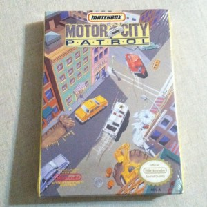 New & Sealed Motor City Patrol (Nintendo, 1992) Matchbox RARE Nes