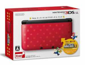 Nintendo 3DS LL XL Console New Super Mario Bros. 2 Limited Edition Pack