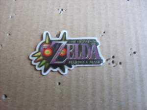 Vintage Nintendo The Legend of Zelda Majoras Mask Pin