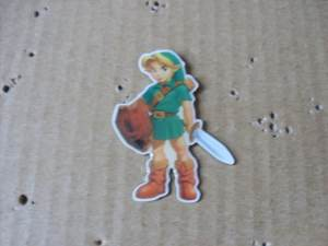 Vintage Nintendo The Legend of Zelda Pin Snes