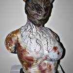NEWCustom Figure Resin Sideshow Sexy SILENT HILL NURSE Bust Statue 24