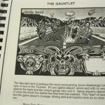 Rare 90s Unreleased Video Game Manuscript for SEGA GENESIS Mutant Speed Demons 5