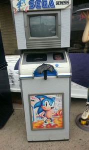 Sega Genesis Display Kiosk