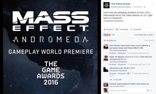 In arrivo un nuovo video gameplay di Mass Effect Andromeda