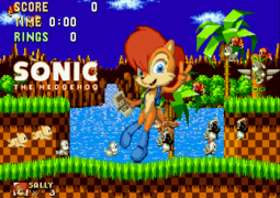 Sally Acorn in Sonic the Hedgehog-3