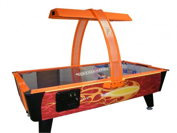 Dynamo Fire Storm Coin Op Air Hockey Table 8 Foot Model