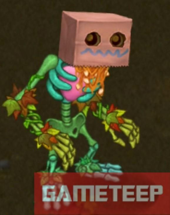 My Singing Monsters Rare Punkleton Monster Gameteep