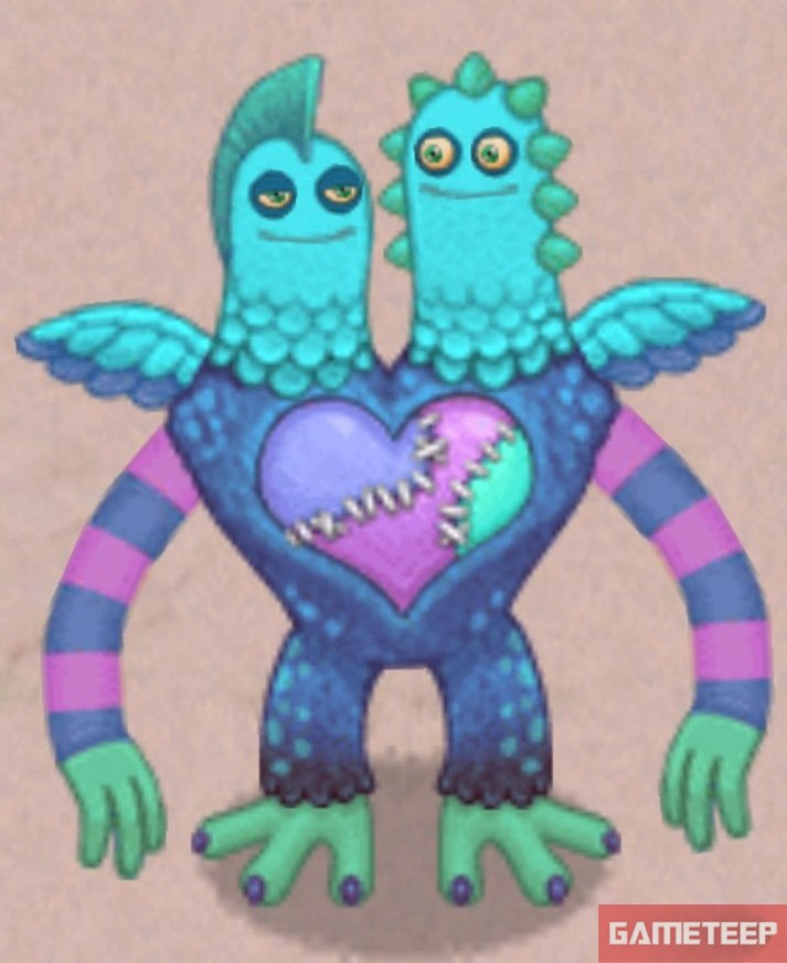 My Singing Monsters Rare Schmoochle Monster Gameteep