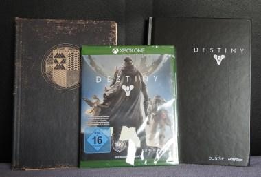 1. Preis: Destiny-Fanpaket