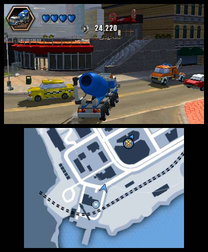 lego city undercover 3ds 5