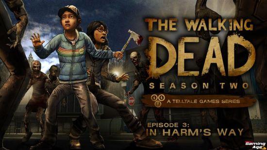 The Walking Dead In Harms Way_KeyArt_Logo