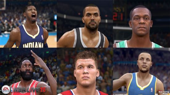 NBA LIVE 15 First Screen