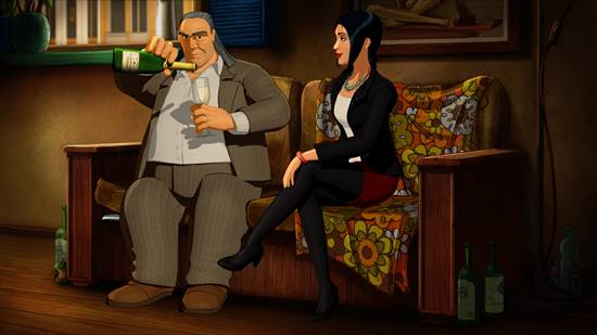 Broken Sword 5 - the Serpent's Curse - Laine and Nico